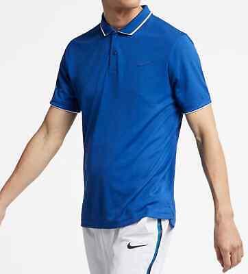 New Nike Men's Court Tennis Dry Team Polo 939137 438 | eBay