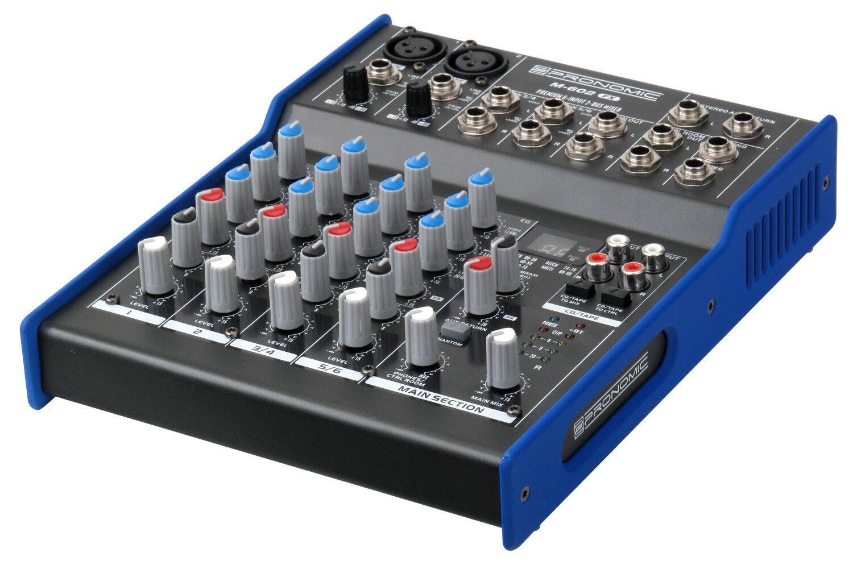 centro commerciale di moda Pronomic m-602fx 6 CANALI STUDIO MIXER PA MIXER MIXER MIXER home recording effetto dispositivo  fino al 42% di sconto