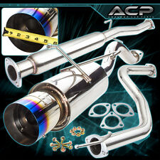 "1992-2000 Honda Civic Coupe Sedan 2.5"" High Flow Catback Exhaust System Burn Tip"
