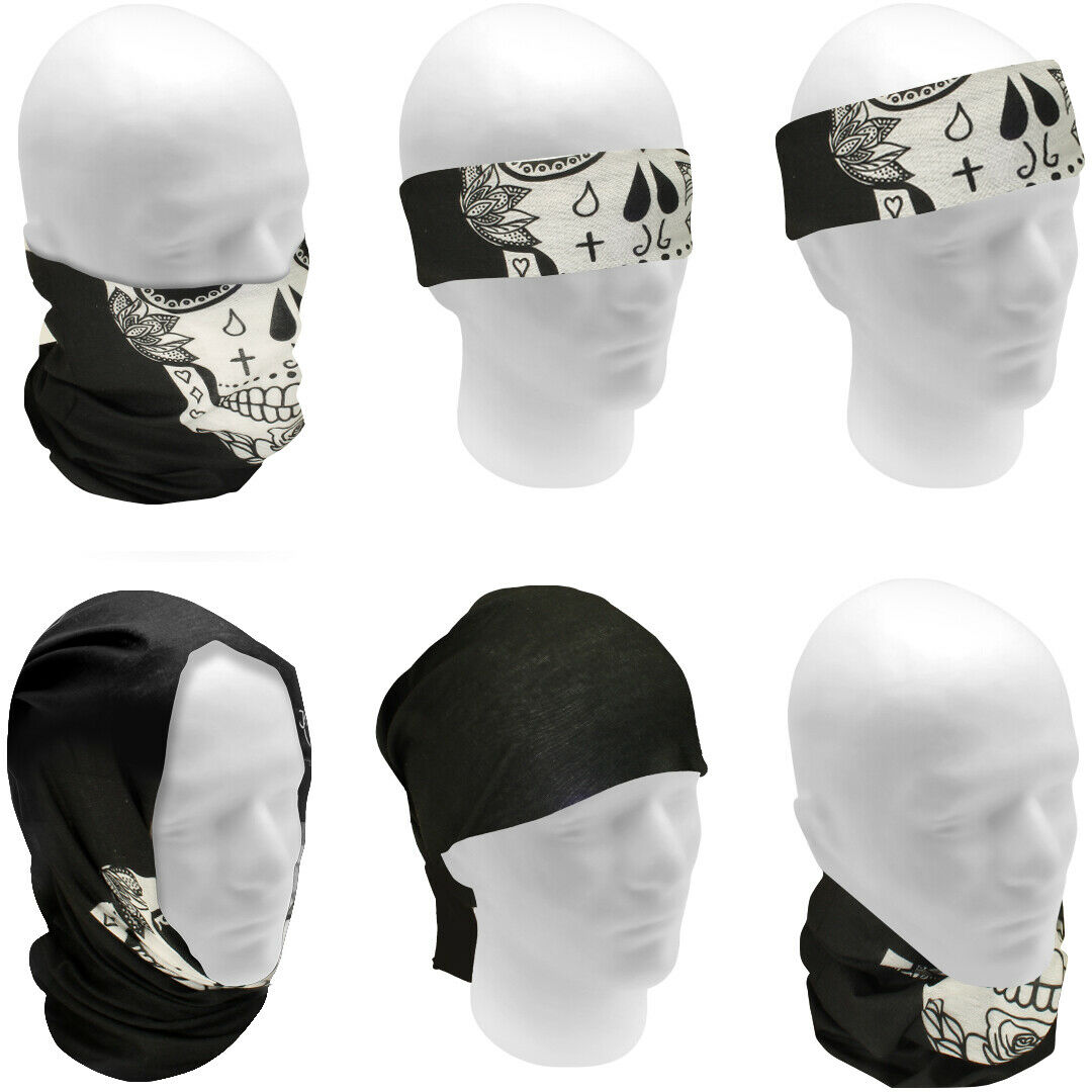 Multi-Purpose Bandana Tube Camo Skull Face Cover Neck Warmer Dust Shield Snood