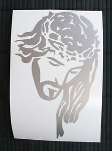 adesivo-Gesu-Jesus-uomo-man-sticker-decal-Cattolico-car-auto-moto-film-Catholic