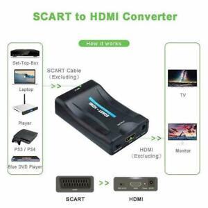 HD-1080P-SCART-zu-HDMI-Video-Audio-Upscale-Konverter-DVD-Adapter-SkyBox-A5W3