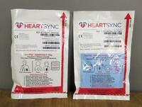 Physio Control Heartsync Adult & Pediatric Lifepak Electrode Pads