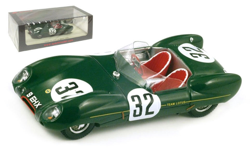 Spark S2183 Lotus XI Le Mans 1956 - Chapman MacKay-Fraser 1 43 Scale