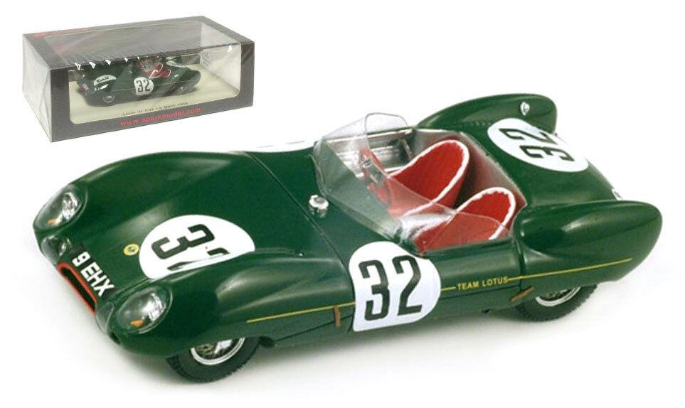 Spark S2183 Lotus XI Le Mans 1956 - Chapman MacKay-Fraser 1 43 Scale