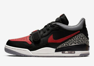 2d97a51a300 New Men Air Jordan Legacy 312 Low BRED Shoes (CD7069-006) Black/Univ ...