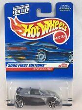 Hot Wheels 2000 First Editions Lotus Elise 340R  MOC Vintage Diecast
