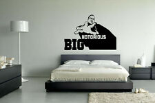 Notorious Big Biggie bien Hip Hop Pared Arte Vinilo Decal Sticker Casa Desmontable