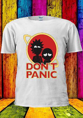 Rick E Morty Avventura Non Temere T-shirt Canotta Tank Top Uomini Donne Unisex 2251-mostra Il Titolo Originale