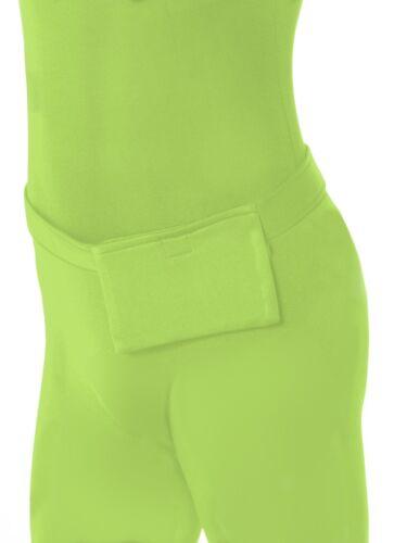 Second Skin Zentai Bodysuit Fancy Dress Outfit Green New by Smiffys