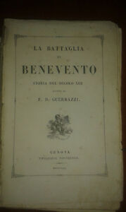 Gautam Die Schlacht Von Benevento Druckerei Ponthenier 1841 Mit Boards