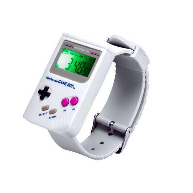 Paladone Pp3934nn Gameboy Digital Watch Nintendo Game Boy Wristwatch For Sale Online Ebay