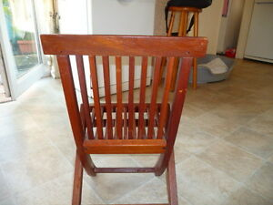 Childs Solid Wooden Folding Chair Collection Only Ebay