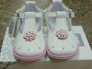 Pex White \u0026 Pink Kaylee Leather Baby