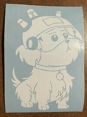 Rick and Morty Snuffles Snowball Dog Smith Vinyl Decal Sticker UPDATE DESIGN