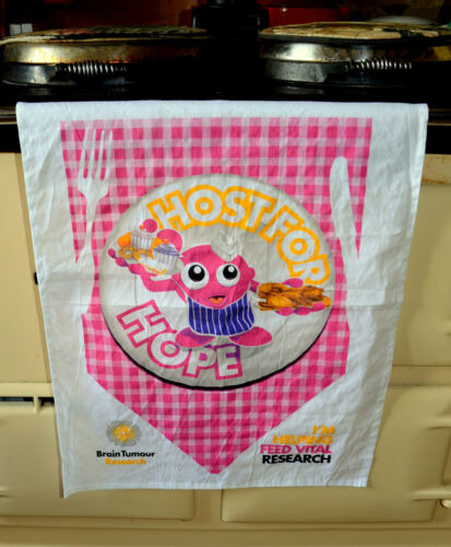 Host for Hope Brain Tumour Research Tea Towel