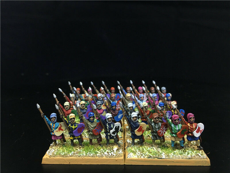 15mm DPS painted Achaemenid Persian Kardakes with bow, shield & Javelins GH987
