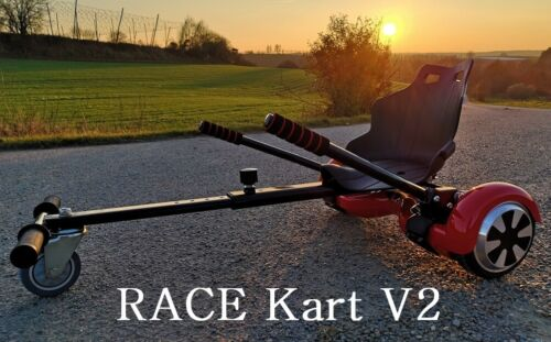 Race Hoverkart V2 Hoverboard Self Balance E-Scooter Sitz Go Kart Hoverseat Sitz