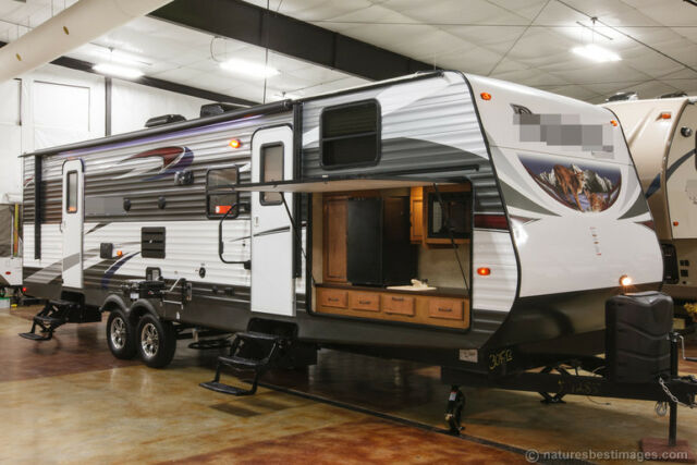 New 2016 30FBSS Slide Out Bunkhouse Travel Trailer Outdoor Kitchen Camper  Bunks