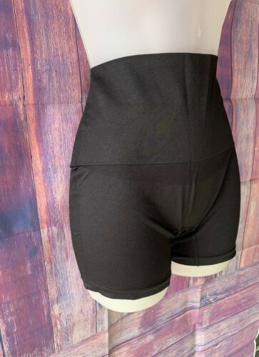 Size 1x//2x Details about  /Black Yummie Tummie Seamless Shaping Undergarment Shorts