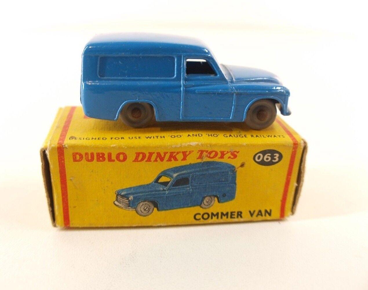 Dinky Toys GB 063 063 063 Dublo Commer van jamais joué en boîte MIB cf9fba