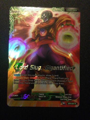 Lord Slug Dragonball Super BT4-047 R Lord Slug Gigantified
