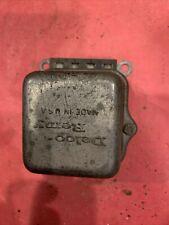 1964 Delco Remy Pontiac Voltage Regulator Oldsmobile 1119515 Chevy 4e May 64 Gm