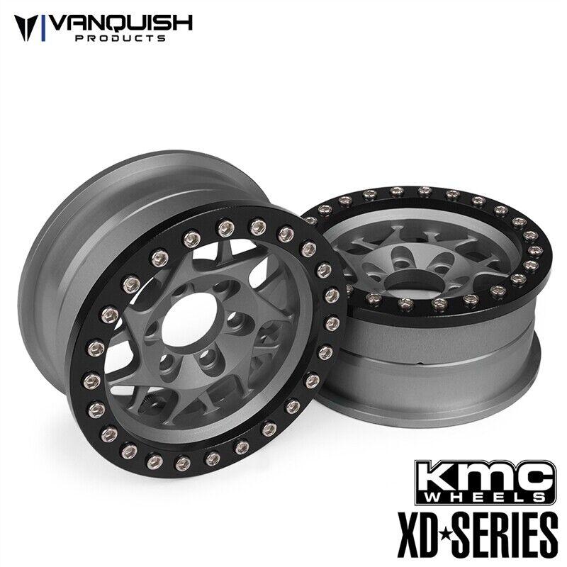 Vanquish Products KMC 1.9   XD127 Bully ruedas grigio Anodized VPS07712  garanzia di qualità