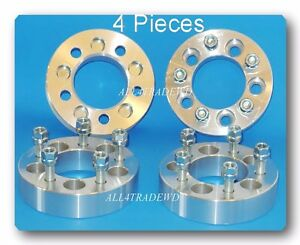 4-Pcs-Wheel-Spacer-5x4-5-5-4-5-Thickness-1-5-034-ID-OD-82-164-Stud-1-2-034-20-Fit-Ford