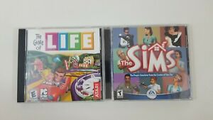 The Game of Life The Sims PC Game Lot Jewel Case