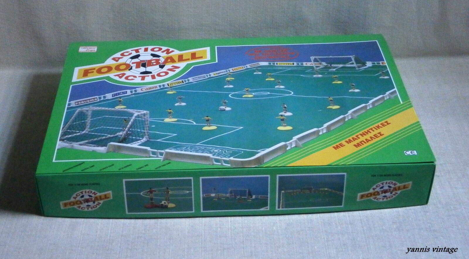AZIONE  footbtutti calcio tavolo gioco Nuovo  con Scatola Grecia Perma GIOCATTOLI Greco vintage Unique  vendita online