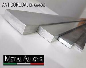 Barra Piatta Alluminio da 20 25 mm IN DIVERSE LUNGHEZZE E SP. ANTICORODAL 6060