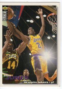figurina CARD BASKET NBA 1995 NEW numero 77 EDDIE JONES - Italia - figurina CARD BASKET NBA 1995 NEW numero 77 EDDIE JONES - Italia