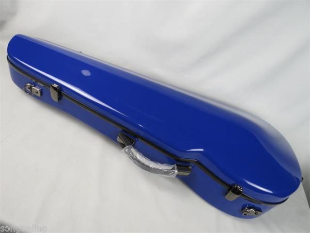 Hermoso Azul Ajustable 15-17  púrpura caso de fibra de de de vidrio, con 2 soportes de arco 27303f