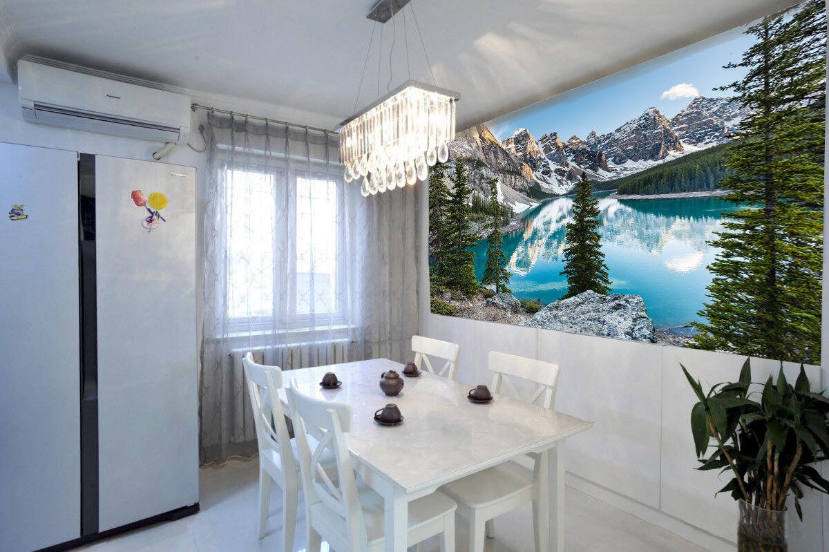 3D Schnee Berg See 74 Tapete Wandgemälde Tapete Tapeten Bild Familie DE Lemon  | Wirtschaft  | Zürich  | Züchtungen Eingeführt Werden Eine Nach Der Anderen