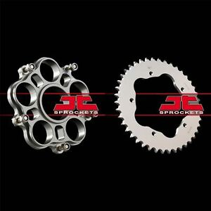 JT Rear Alloy Sprocket & Carrier Kit to fit Ducati 998 2002
