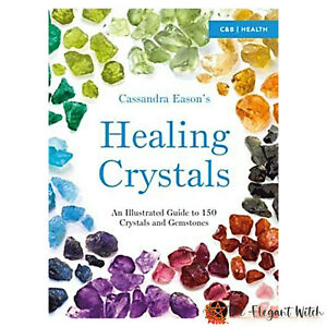 Book-HEALING-CRYSTALS-An-Illustrated-Guide-by-Cassandra-Eason-Wicca-Pagan-Witch