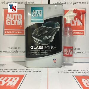image is loading autoglym glass polish 5 litre 5l ag bottle