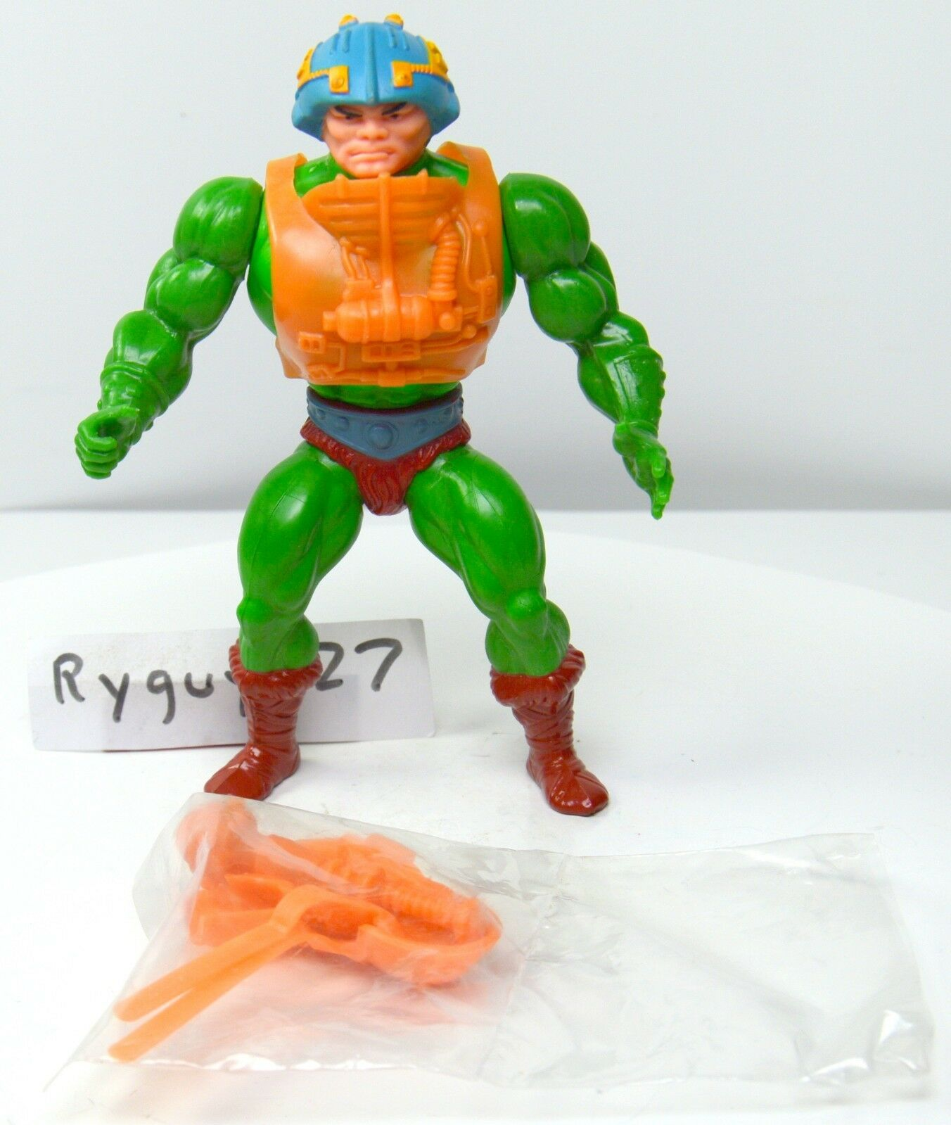 MOTU, Man-At-Arms, Masters of the Universe, vintage, complete, He-Man, figure