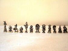 Hindu God Ganesh Shiva Krishna Hanuman SET 12 MINI AMULET STATUE figurine Murti