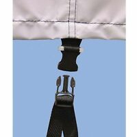 Boat Cover Quick-on Tie-down Strap Kit - 2 Pack