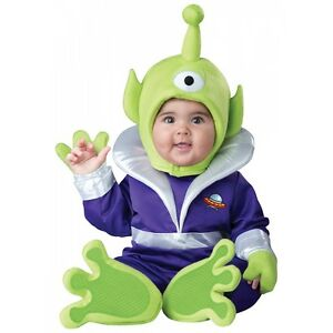 image is loading alien costume baby martian toy story halloween fancy - Toy Story Alien Halloween Costume