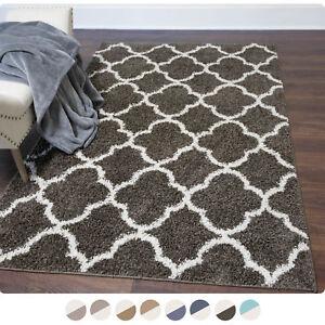 Image Is Loading Nicole Miller Designer Area Rug Moroccan Trellis Quatrefoil