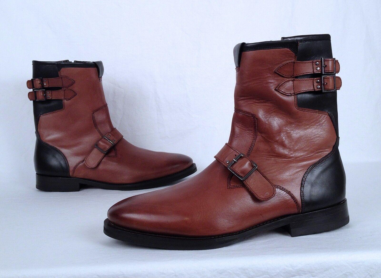 NEW   Ted Baker 'Decola'  Leather Stiefel- braun- Größe 11 US   330  (MB)