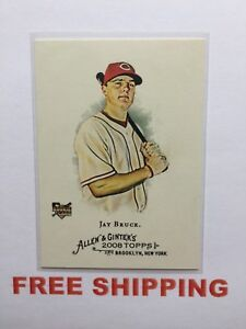 2008-Topps-Allen-amp-Ginter-039-s-RC-Card-273-Jay-Bruce-MLB-Reds