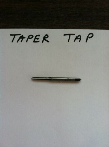 5-44 -- TAP- 3 FLUTE--TAPER TAP HIGH CARBON--SIZE-