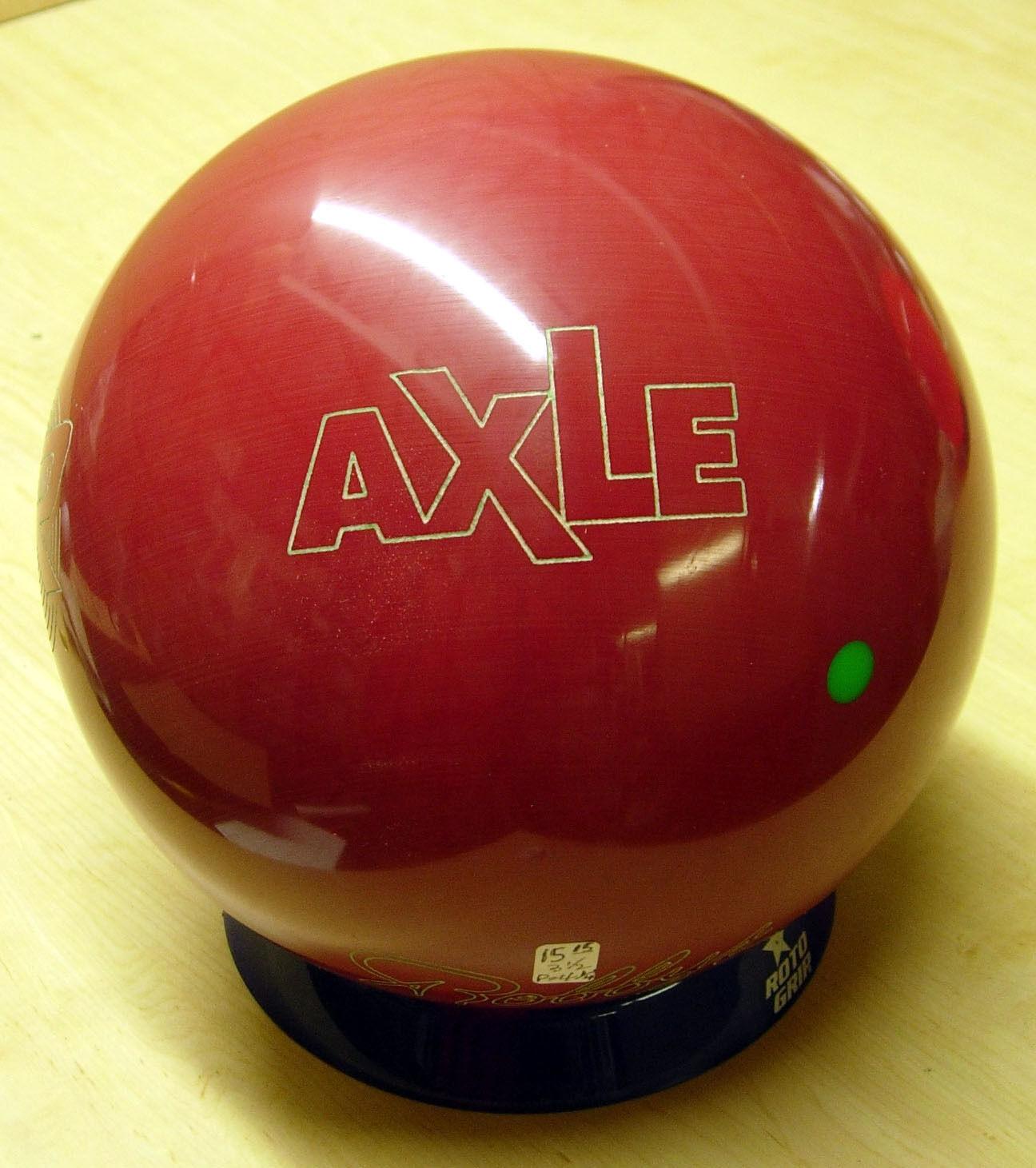= 16Old Display Ball no original box Undrilled 1995 Robby AXLE Bowling Ball