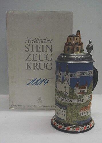 Villeroy + Boch   Mettlach  Steinzeug Krug  1976  | Wunderbar