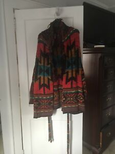 a0270982b Free People Wild Wild West Belted Cardigan
