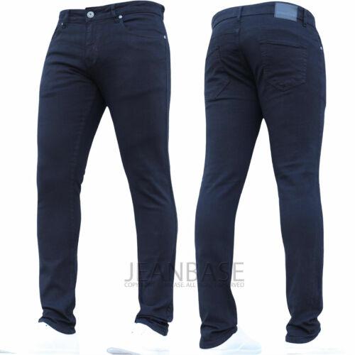 New Boys Stretch Kids Skinny Elasticated Waist Jeans School Pants Smart Trousers